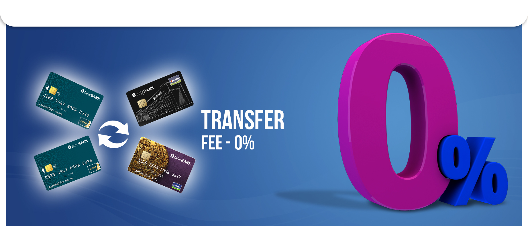 Updated terms for transferring funds between cards